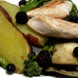 Chicken and Sweet Potato 2 sweet potatoes Eggplant Pack of broccoli Few blue berries Few raspberries Chicken breasts Juice of a lemon Chop the eggplant into 1cm thick slices and...